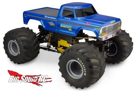 1979 bigfoot monster truck jconcepts 1979 ford f 250 monster truck body big squid