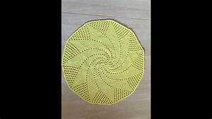 Set De Table Au Crochet : tuto set de table soleil au crochet sp cial gaucher youtube ~ Melissatoandfro.com Idées de Décoration