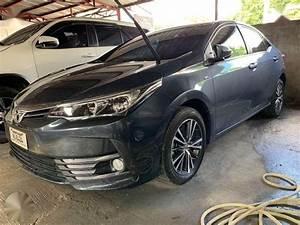 2017 Toyota Altis 1 6 G Manual Gray Metallic Sedan 602981