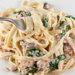 smokehouse bacon pasta alfredo wishes and dishes