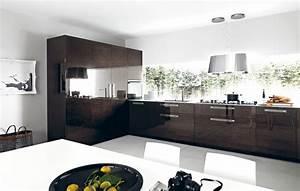 la cuisine marron inspiration cuisine With cuisine marron et blanc