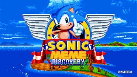 Sonic Meme - sonic meme discovery sonic mania mods