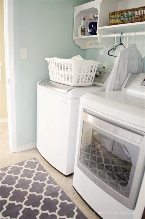Craftaholics Anonymous®  Laundry Room Makeover Reveal