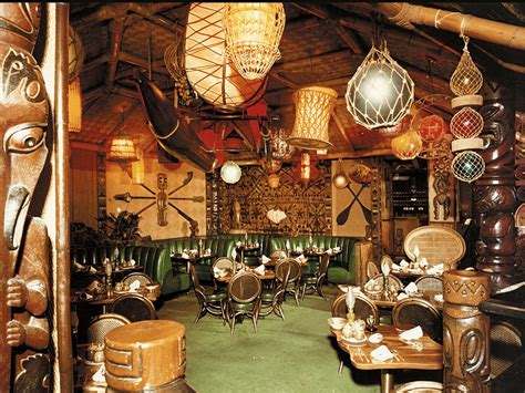 Tiki Decor - the rise and fall of the tiki bar wired
