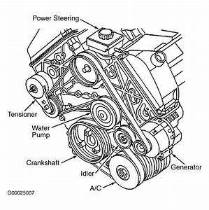 2000 Oldsmobile Intrigue Serpentine Belt Diagram