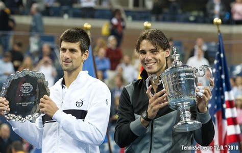 Djokovic gained immeasurable confidence in coming back from down two match points against federer at the 2010 us open, followed by winning. Rafael Nadal Novak Djokovic US Open Final 2010 Tennis