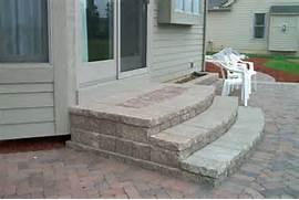 brick paving macomb county landscaping design brick paving paver ... - Patio Steps Design