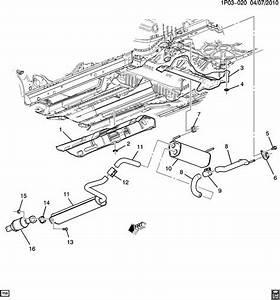 Chevrolet Cruze Gasket  Exhaust Muffler  Resonator  Gasket