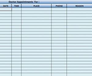 doctor scheduling software template patient scheduling
