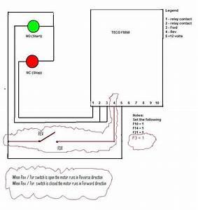 Fm 50 Vfd W   3 Wire Contol Plus Reverse