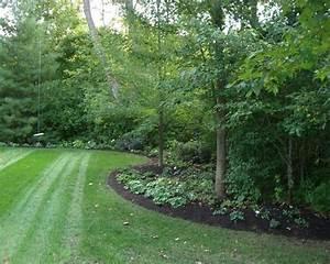 Edge of forest landscaping idea. | Dream Home | Pinterest