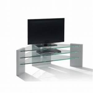 Meuble D Angle Moderne : meuble tv verre d angle dans maison jardin achetez au ~ Teatrodelosmanantiales.com Idées de Décoration