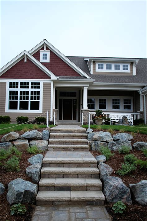 craftsman exterior traditional exterior milwaukee by k architectural design llc