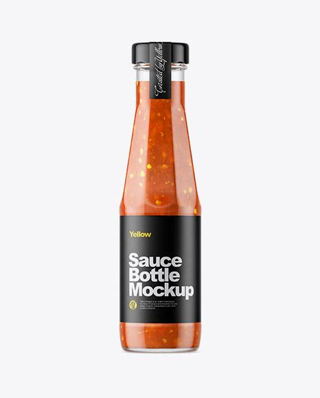 This beauty bottle mockup is perfect to display your makeup brand, don't you think? Sauce Bottle Mockup on Behance