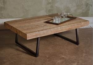 Reclaimed timber contempo coffee table contemporary for Reclaimed timber coffee table
