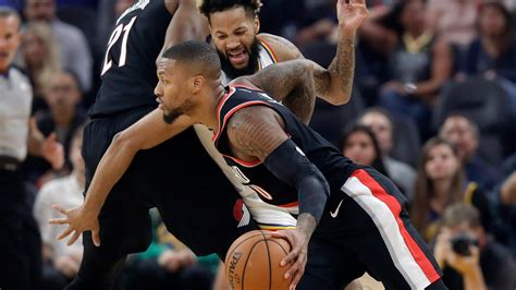 Paschall, young Warriors beat Blazers for 1st home win ...