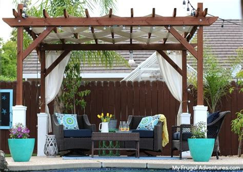 how to install a l shade 8 cool diy pergolas for your garden and backyard