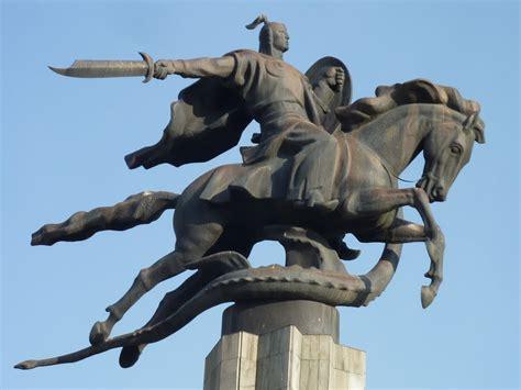 Panoramio - Photo of Manas, mítico héroe nacional kirguis.
