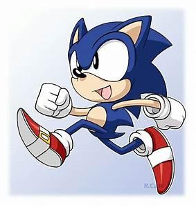 Lil' Sonic running! -- Google Search   ♡My Crush♡ (Classic ...