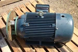 Century Electric Motor 20 Hp  1772 Rpm  208 460v