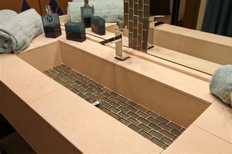 concrete floor kitchen trough sink bathroom audidatlevante 2421