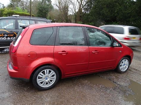 ford focus ghia used 2006 ford focus c max 2 0 ghia 5dr iv for sale in