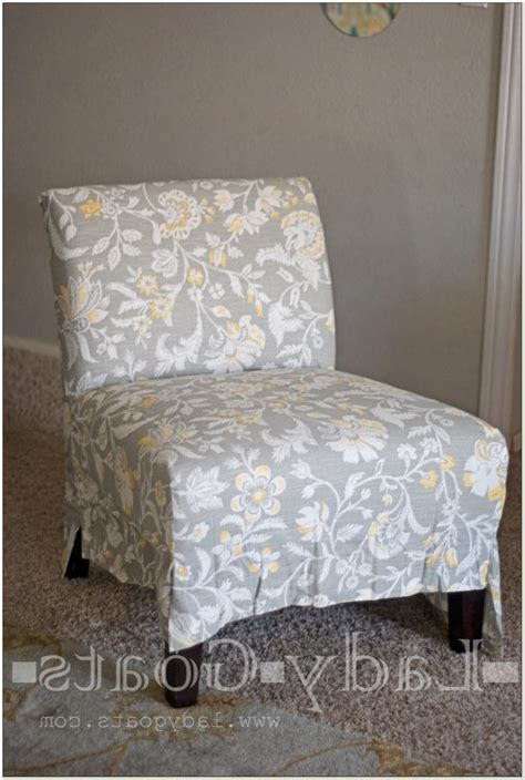 armless chair slipcover armless chair slip covers chairs home decorating ideas