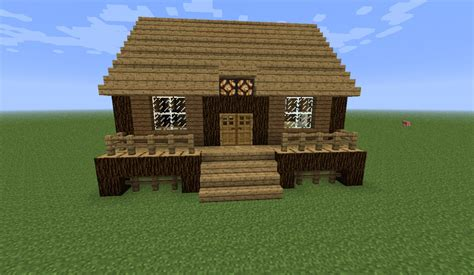 Cabin Minecraft I Made Changes To Minecraft Villages Using 1 9 Features