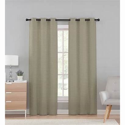 Sheer Pleated Panel Curtain Marcus Semi Curtains