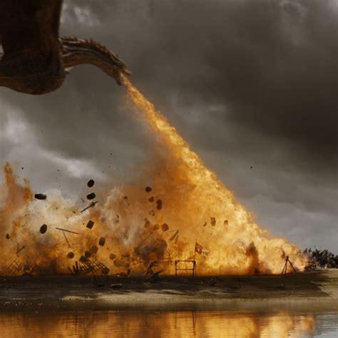 game  thrones dragon battle   season  highlight