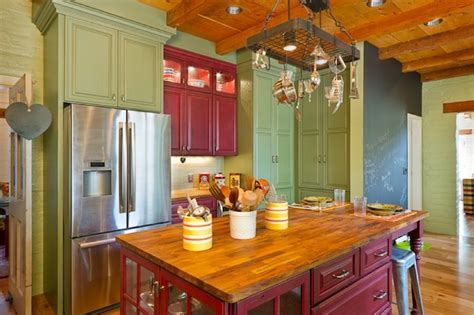 creative ideas for kitchen cabinets creative ways to use color in your dull kitchen