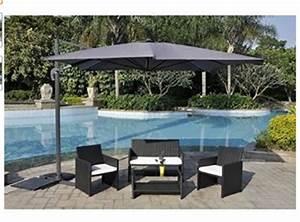 Solde Parasol Déporté : prix parasol jardin inclinables rectangulaires d port s ~ Preciouscoupons.com Idées de Décoration