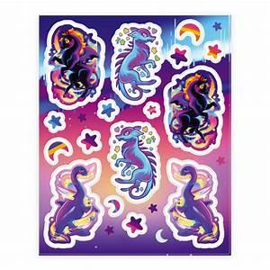Neon Rainbow Monster Sticker Sheet 1 Sticker