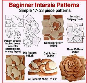 Kathy Wise Beginner Intarsia Patterns