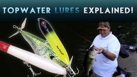pick   topwater lure  bass fishing