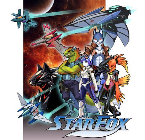Starfox Bh Team Complete By Luigiix On Deviantart