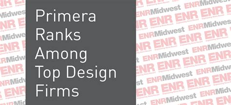 Primera Ranked In Enr's Top Design Firms List Primera