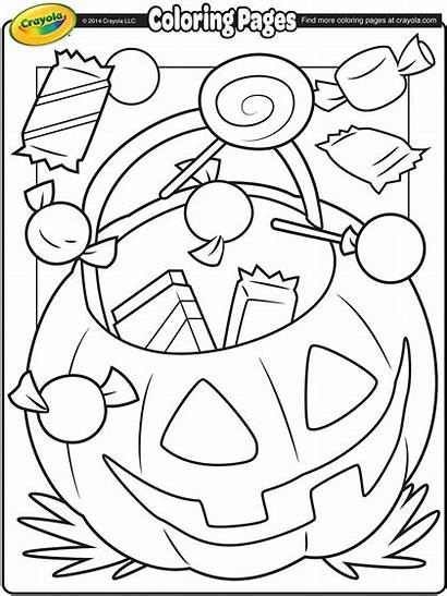 Halloween Coloring Treats Crayola Pages