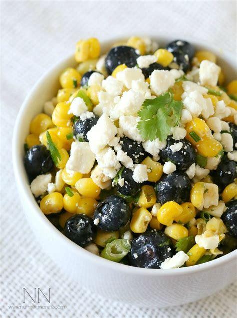 corn and blueberry salad corn blueberry salad nutmeg nanny