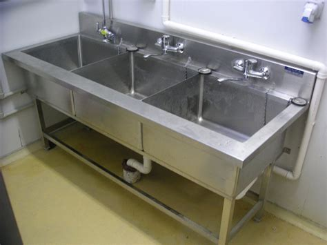 used three compartment sink decorate 3 compartment sink the home redesign