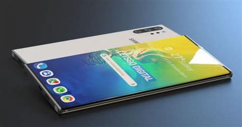 a closer at the galaxy note 10 5g