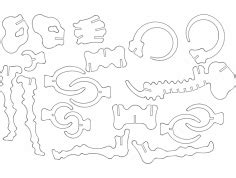 3d puzzle dxf files free page 5 3axis co