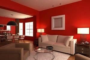 Rotes Sofa Welche Wandfarbe : wandfarbe rot gekonnt einsetzen ~ Bigdaddyawards.com Haus und Dekorationen