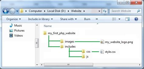 php website how to create a website using php it tips