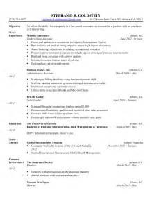 jr underwriter resume sle goldstein resume
