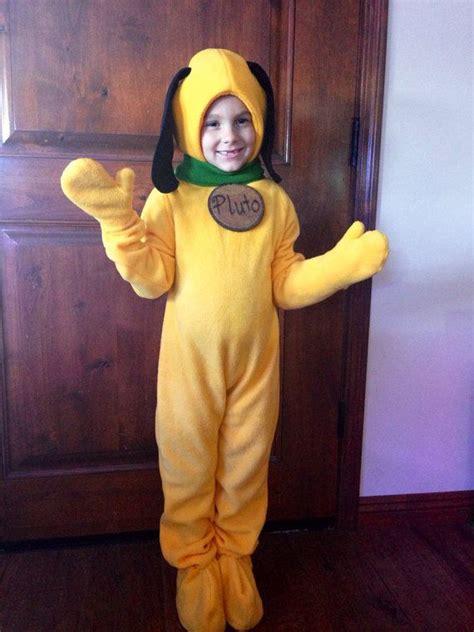 pluto fleece dog costume childrens  patchworkluxury