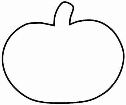 Pumpkin Printable Halloween Scrapbooking Template Outline Templates
