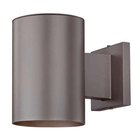 bronze cylinder outdoor wall light 5051 pcb