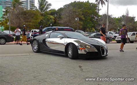 Bugatti In Miami by Bugatti Veyron Spotted In Miami Florida On 06 12 2014