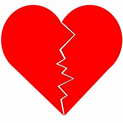 Broken Heart Clipart Cracked Vector Domain 1995